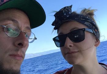 Christian Sartirana e Francesca Zanotto