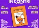 13/14 aprile: Gianni Carino a Modena e Carpi